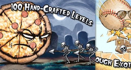 Pizza vs Skeletons 1.0: Wacky game 40% reduced