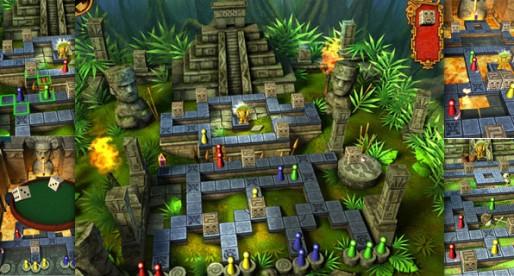 Treasure Blockers 1.0: iPad Board Game in 3D