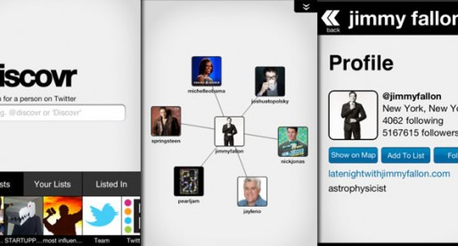 Discovr People 1.0: Find interesting people on Twitter