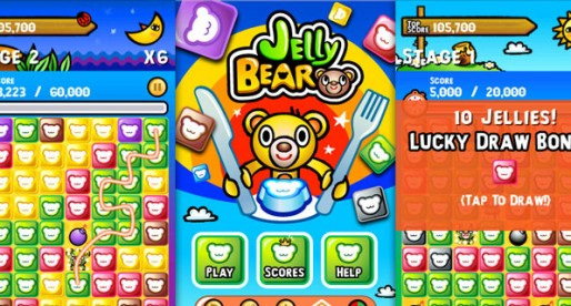 Jelly Bear 1.1.0: Colorful puzzle fun for young and old alike