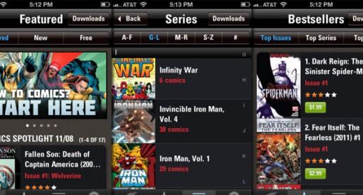Marvel Comics 3.1: Read Comics in Retina-iPad resolution