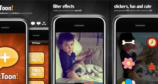PicToon Pro 2.0: Put a sticker on that picture!
