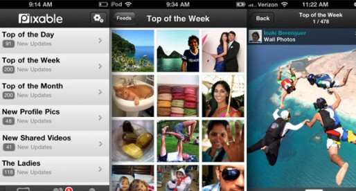 Pixable 2.4.1: The best Facebook pictures of your friends