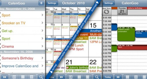 CalenGoo 1.5.15: Your connection to the Google calendar