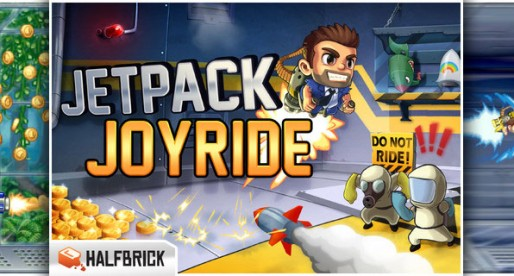 Jetpack Joyride 1.3.1: Hilarious escape with rockets