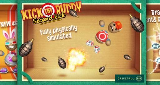 Kick the Buddy: Second Kick 1.1: Reduce aggression!
