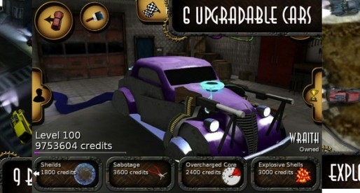 Deadmans Run 1.02: Car Race without Limit
