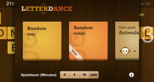 Letter Dance 2.01: Who can guess the solution word?