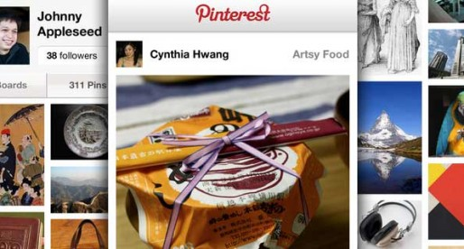 Pinterest 1.6: Teile deine Bilder