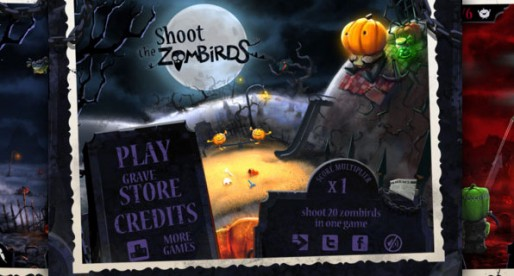 Shoot the Zombirds: Attack of the Zombie-Birds