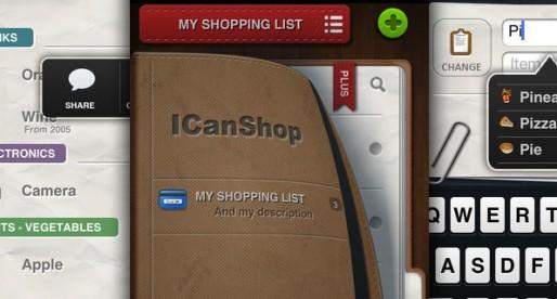 ICanShop 1.2: Die Einkaufsliste für unterwegs