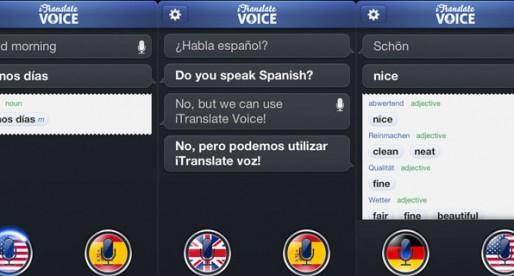 iTranslate Voice 1.0: Übersetzungen mal ganz anders