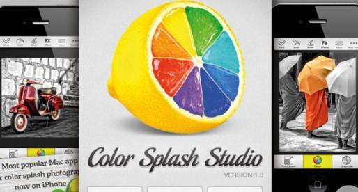 Color Splash Studio 1.1: Farben, Fotos, Fantasie