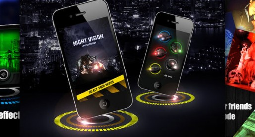 Night Vision 1.0: Taking pictures in a night vision mode