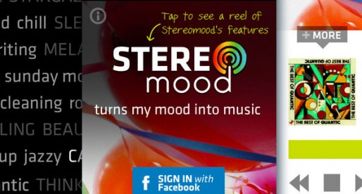 Stereomood 1.1: Music to match the current mood