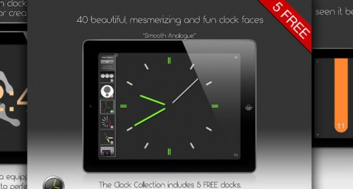 The Clock Collection 1.0: The iPad as a display clock