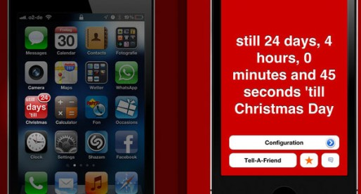 Christmas Badge Countdown 1.9: How much longer until Christmas?