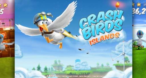 Crash Birds Islands 1.0: Helmet on and off you go!