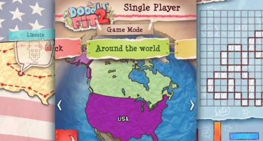 Doodle Fit 2: Around the World 1.0.0: Geometric puzzle