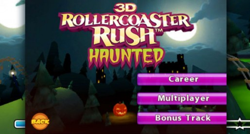 Haunted 3D Rollercoaster Rush 1.0.7: Skeletons on the roller coaster