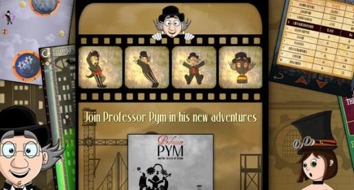 Professor Pym and the secret of steam 1.0: Steaming platform game