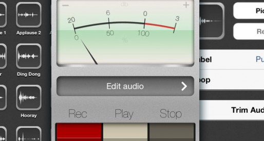 Soundbrett 1.0: Sound effects from the iPhone