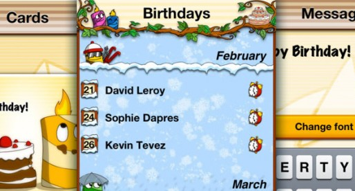 The Birthday App 1.0.3: Never forget a birthday again!