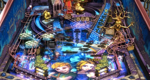 Zen Pinball 2 1.0: Free pinball table for the Mac