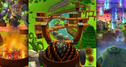 Catapult King 1.0: Lets get the dragon!