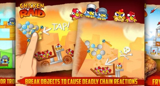 Chicken Raid 1.0: The chickens have to go!