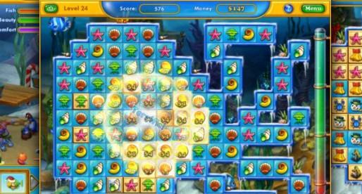 Fishdom: Frosty Splash HD Premium 1.0.7: Underwater Match-3 game for the iPad
