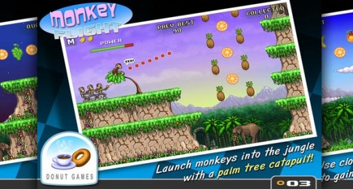 Monkey Flight 1.51: The monkey that wants to fly high!