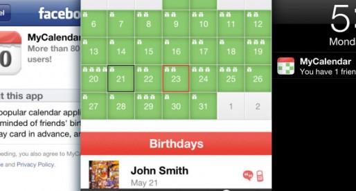 MyCalendar Mobile 1.6: Never miss a birthday!