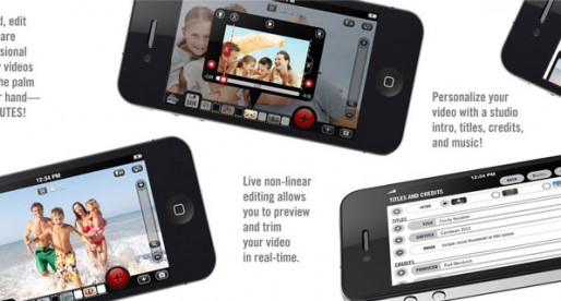 Video Camera 2.0.1: Shooting a professional video
