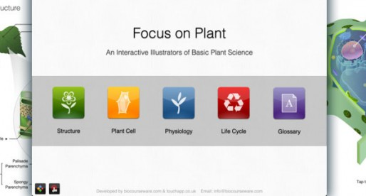 Focus on Plant 1.1: Plant science on the iPad