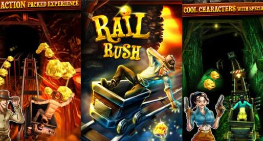 Rail Rush 1.0: Adventure in the mine