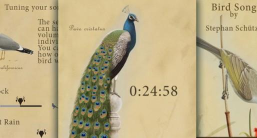 Carmina Avium 1.0: Relax to the sound of birds