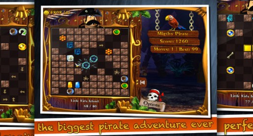 Captain Backwater 1.0: Steal the pirate's treasure