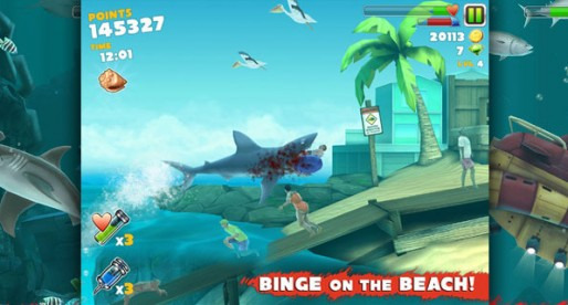 Hungry Shark Evolution 1.0.1: Greedy shark on the prowl