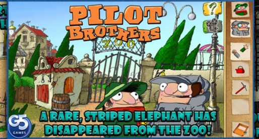 Pilot Brothers 1.1: Where is the striped elephant?