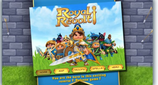 Royal Revolt! 1.10: a new spin on tower defense games