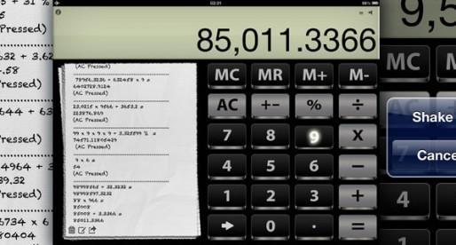 Calculator> Retina HD 1.0: High-resolution calculator