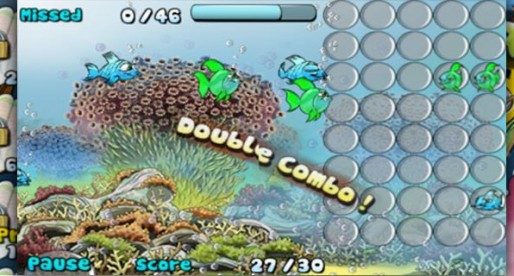 Crazy Fishes Full 1.0: Fish in rank and file