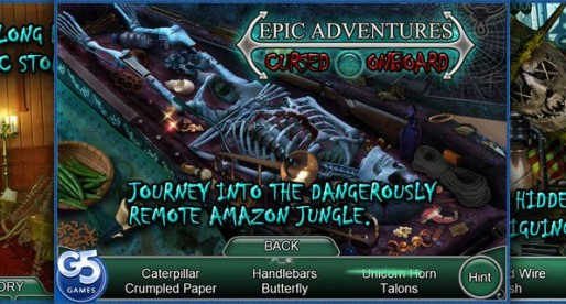 Epic Adventures: Cursed Onboard 1.0: A ship in the jungle