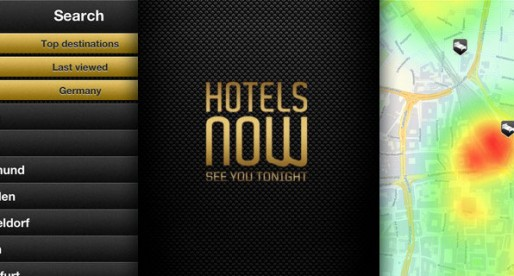 Hotels Now 1.0: Today only – great deals on hotel rooms