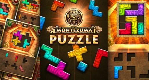 Montezuma Puzzle 1.0.0: 100 colorful Tangram Puzzles