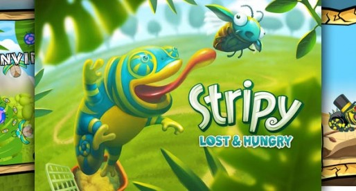 Stripy 1.0.1: The hungry chameleon