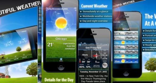 Beautiful Weather 3.1: Schöner kann ein Wetterbericht nicht sein
