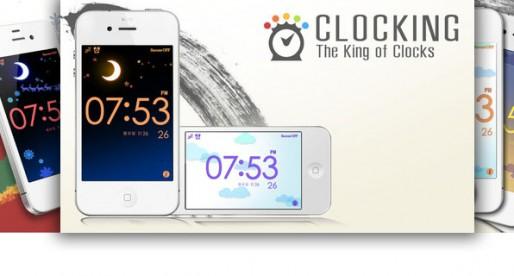ClocKing 1.0.0: Colorful clock with alarm