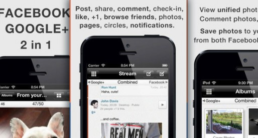 Jift Pro 1.1: An app that combines Facebook and Google+